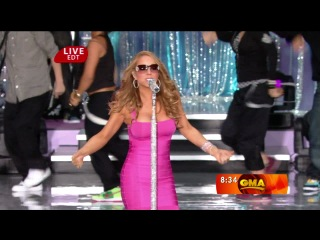 Mariah Carey - Touch My Body (live Good Morning America)